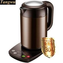 Hervidor eléctrico/preservación del calor/guisado té hogar inoxidable hervidor anti-caliente