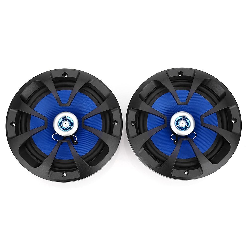 LABO Pair of LB - PP2652T Car Coaxial Speaker Power Sensitivity Stereo Audio Music Loudspeaker Auto Woofer rubber surround 100W