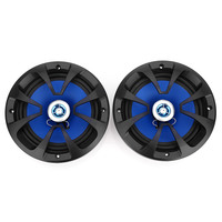 LABO Pair of LB PP2652T Car Coaxial Speaker Power Sensitivity Stereo Audio Music Loudspeaker Auto Woofer rubber surround 100W