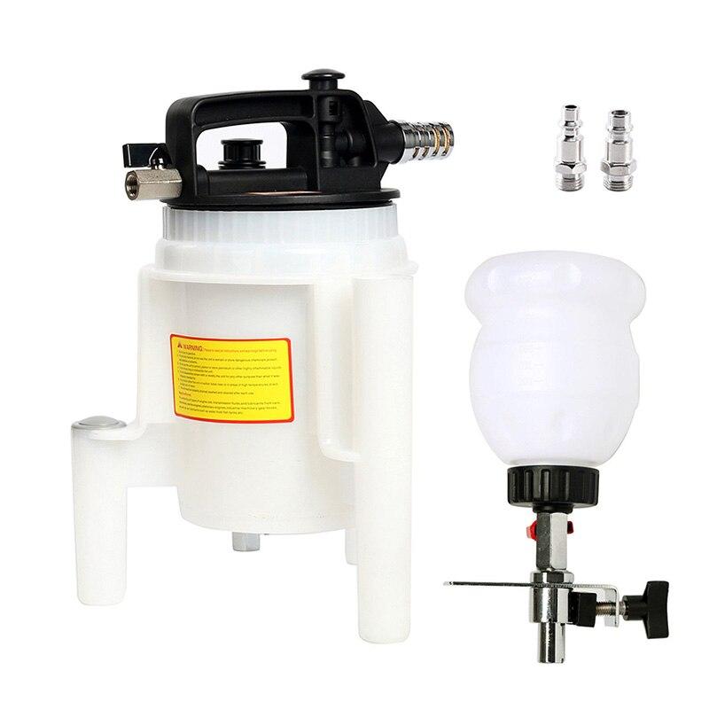 Pneumatic Brake Fluid Extractor Automatic Refilled Bottle 2L Brake Oil Fluid Extractor Pneumatic Brake Bleeder Tool