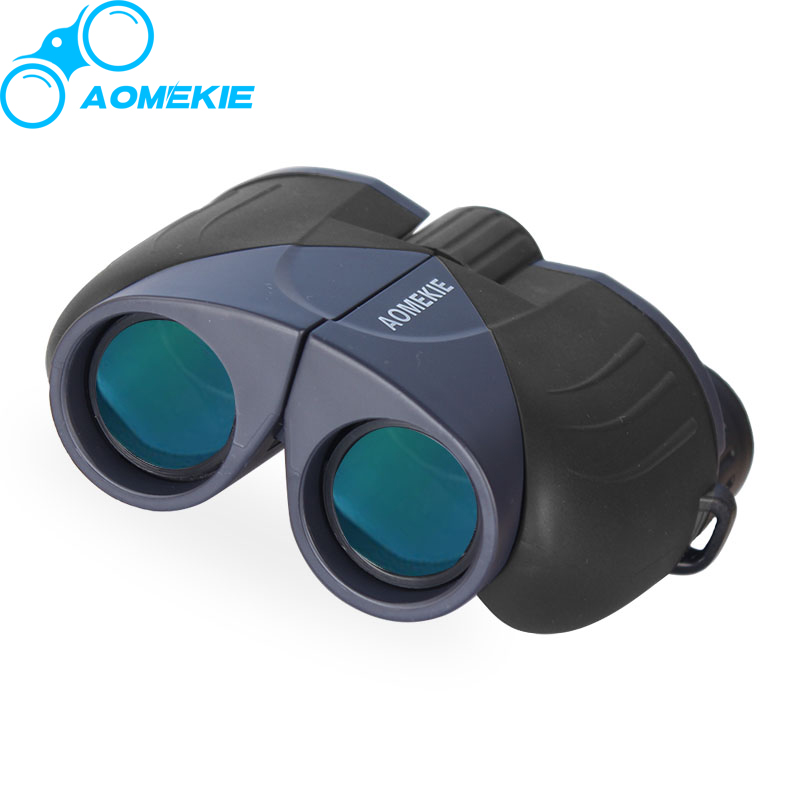 AOMEKIE 10X25 Binoculars HD Wide Field Vision Full Coated Lens Camping Hunting Optical Telescope Sport Birdwatching Pocket Size