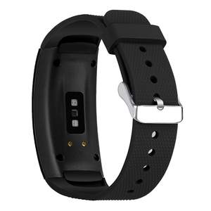 Image 4 - Hangrui Replacement Wristband For Samsung Gear Fit 2 Pro Band Luxury Silicone Watchband For Samsung Fit2 SM R360 Strap Anti lost