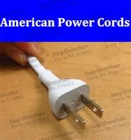 2 unids/lote de alta calidad  1 8 metros  dos enchufes planos americanos  8 cables de alimentación con envío gratis