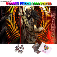 MOMEMO God Wooden Puzzles 1000 Pieces Jigsaw Puzzle Adults Wooden Puzzle Difficult 1000 Pieces Puzzles 1000 Piezas Adulto Toys