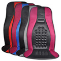 Massagem Almofada Do Assento de Carro Universal Fit Projeto Colisão Função Terapia Ímãs Redondos 1 pcs Auto Styling (cinza & Red)
