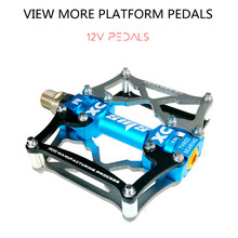 Bicycle Pedals  Racing Road Bike Pedal Non-Slip Mountain Lightweight Mtb Components