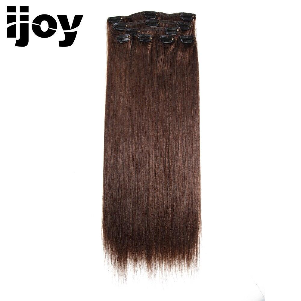 Clip i flokëve IJOY Remy në Pako për Zgjatje të Flokëve të - Flokët e njeriut (të bardha) - Foto 5