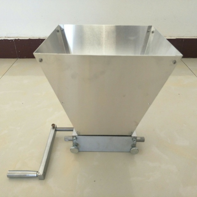 Ferramentas Wholesale Hand Craft Malt Mill Wheat For Grain Crusher Home Brewed Beer Machine With Two