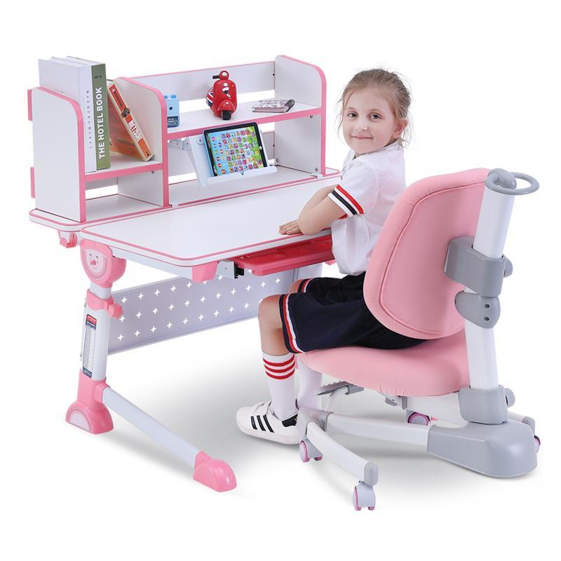 Mickey children's study table and chair set can lift pupils children work desk factors influencing pupils performance