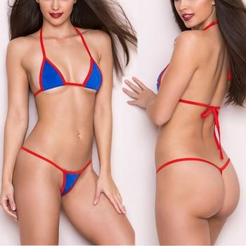 Exotic Micro Bikini Set Beach Swimwear