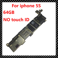 For Iphone 5S Without Touch ID Clean ICloud IOS System Mainboard 64GB Original Unlocked Motherboard Logic