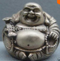 Exquisite of copper Buddha laughing Buddha Statues