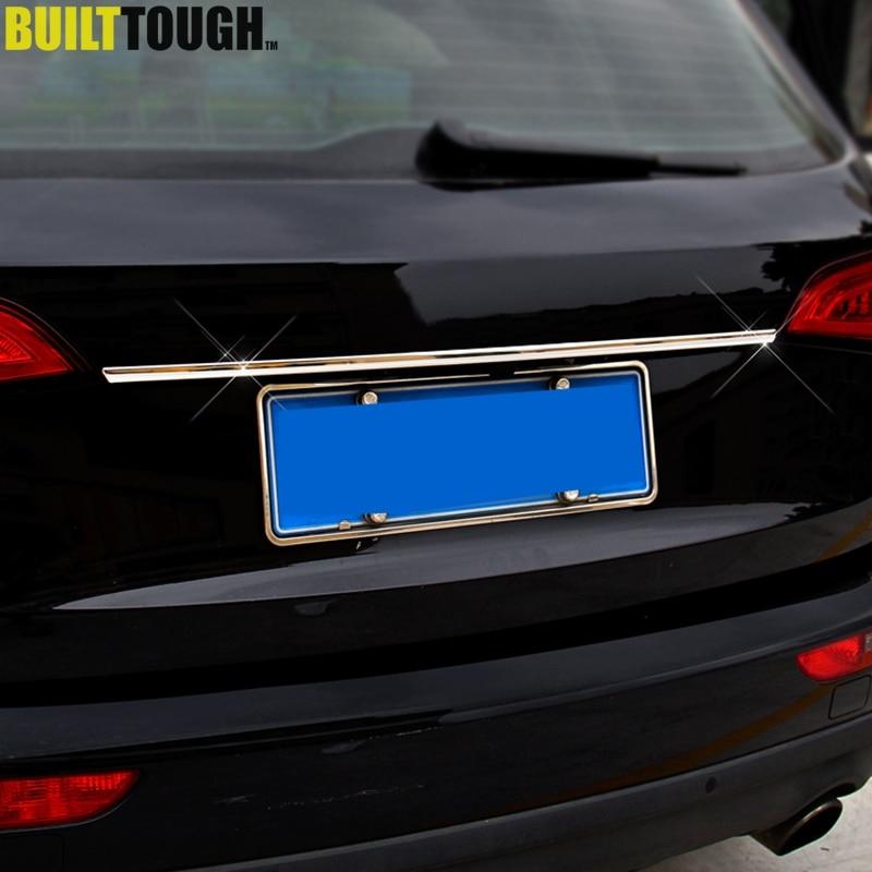 Chrome Rear Trunk Garnish Molding Trim for AUDI 2012 2013 2014 2015 A6