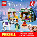 Lepin 25001 175Pcs Frozen World Series The Anna`s Snow Adventure Set 41147 Children Educational Building Blocks Bricks Toys Gift
