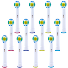 12  PCS Replacement 3D White Toothbrush Heads for Oral b Toothbrush Heads Compatible with The Entire Lineup of Oral-B Toothbrush 12 pcs 3d pro white toothbrush heads for oral b toothbrush heads braun oral b brush heads compatible with oral b toothbrush