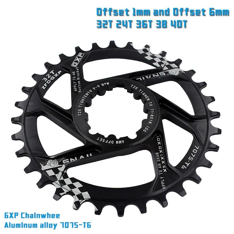 एमटीबी GXP साइकिल क्रैंकसेट तय गियर क्रैंक 30T 32T 34T 36T 38T 40T 40R चैनरिंग चेनव्ही के लिए sram gx xx1 X1 x9 gxp ईगल NX
