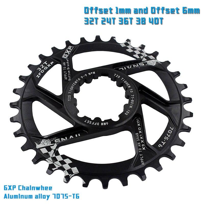 VTT GXP vélo Pédalier pignon fixe Manivelle 30 T 32 T 34 T 36 T 38 T 40 T Plateau chainwhee pour sram gx xx1 X1 x9 gxp Aigle NX