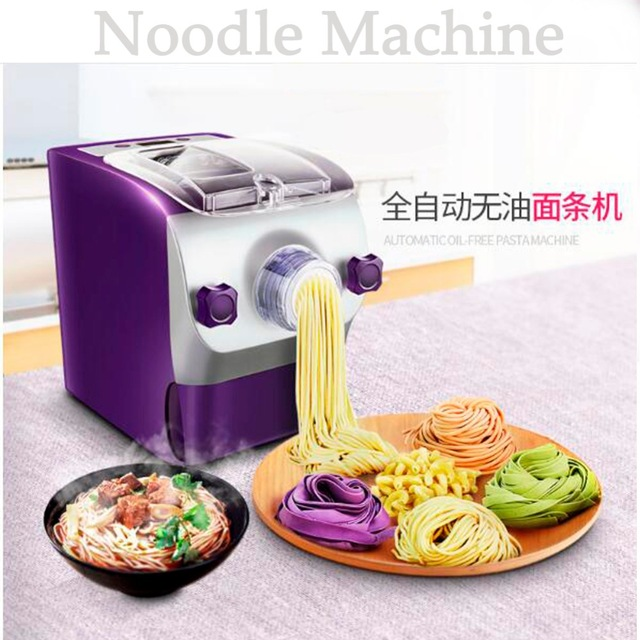 220V 150W Electric Automatic Smart Household Noodle Machine Pasta Maker High Quality DHL UPS 1 pc 220v 100w automatic shoe machine utilities electric induction luxurious hall household brush shoes