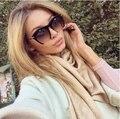Mujeres medio capítulo gafas de sol new hot moda diseñador de la marca cat eye luneta gafas lentes gafas de sol de la vendimia hombres gafas al aire libre