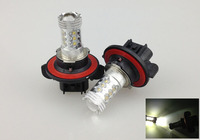 Free Shipping 2pcs Lot H13 80W 6000K Fog Lamp Cree Car Headlight High Power Led Lamp