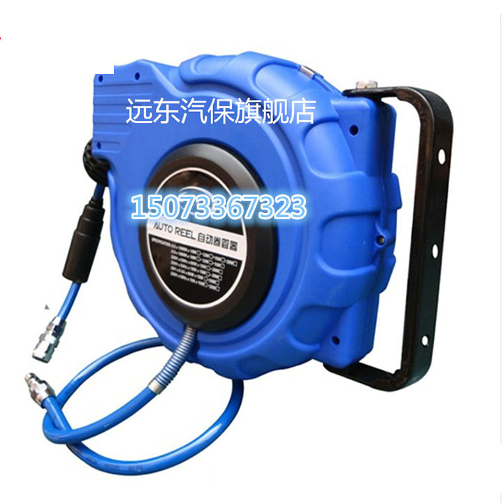 Automaticretractable reel Recycling PU bag bobbin Pneumatic tool 12*8MMGas cylinderAirbleaching fan Car beauty 10 15 20 25meters recycling fun