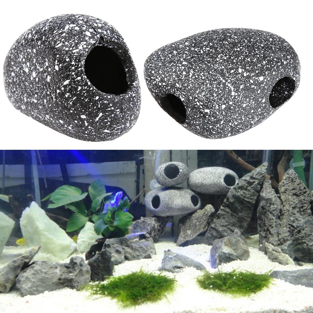 Artificial stone cave aquarium ornament free shipping for Accessoires decoration