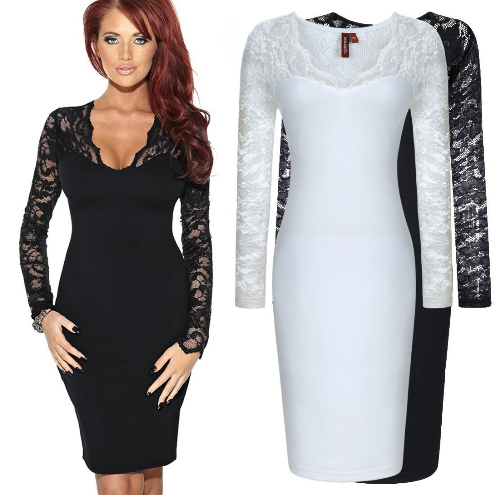 Compare Prices on Black Long Sleeve Dress- Online Shopping/Buy Low ...