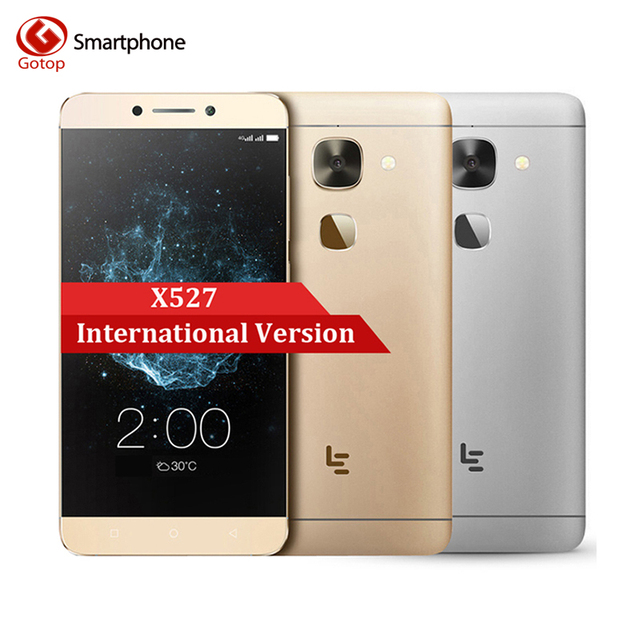 Original LeTV Le 2 X527 5.5 Inch Smartphone Android 6.0 Snapdragon 652 Octa Core Mobile Phone 3GB RAM 32GB ROM 4G LTE Cell Phone