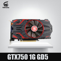 NVIDIA Geforce Graphics Cards GTX750 2GB GDDR5 128Bit Game Cards 1120 5000Mhz