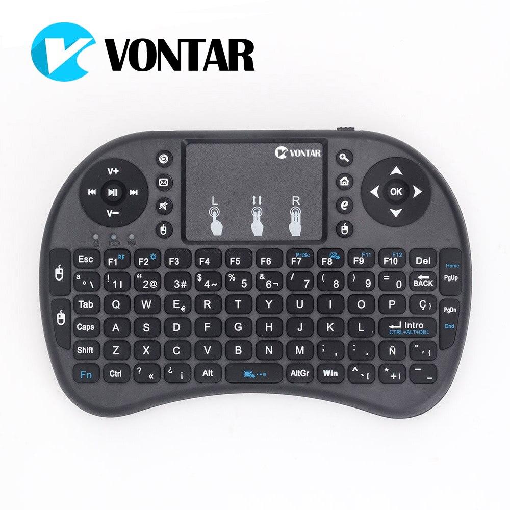 Mini i8 Keyboard Russian English Hebrew Spanish Version