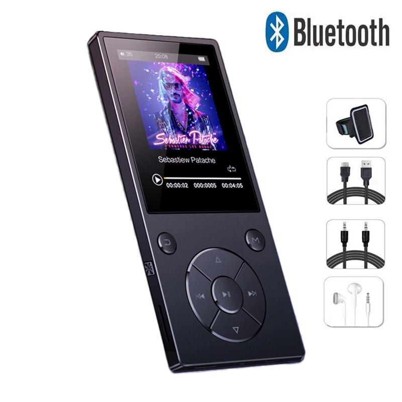 Lecteur MP3 d'origine ChenFec C11 lecteur MP3 sans perte HiFi lecteur MP3 2.4 pouces écran TFT lecteur Audio Portable avec Radio FM, enregistreur-in Lecteur MP3 from Electronique    1