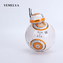 Movie toys Star Wars RC Robots BB8 Star Wars 2.4G Remote Control BB8 robot Action Figure Robot Intelligent For Child Gifts