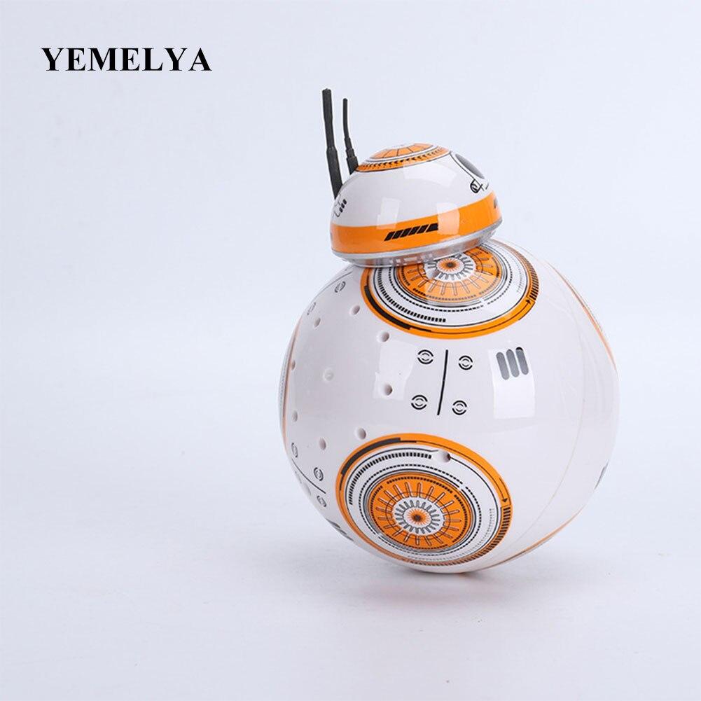 Película Star Wars Juguetes RC Robots BB8 Star Wars 2,4G Control remoto BB8 robot figura de acción Robot inteligente para niño regalos