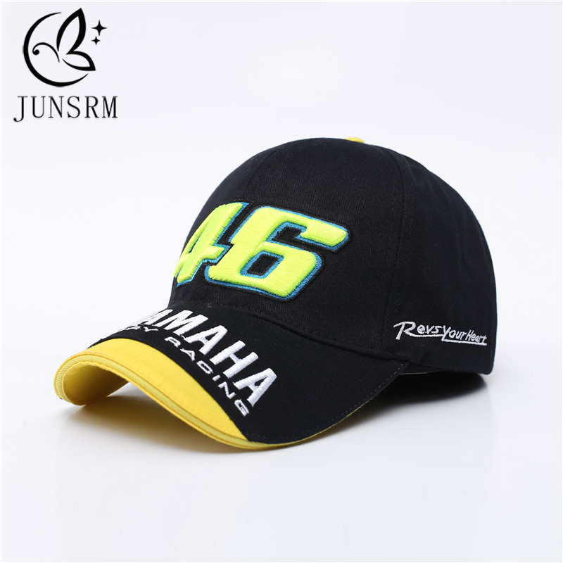 2019 Fashion Summer   Baseball     Cap   Embroidery 46 Dad Hat Men And Women Outdoor Motorcycle F1 Racing Car Gorras Adult   Baseball     Cap