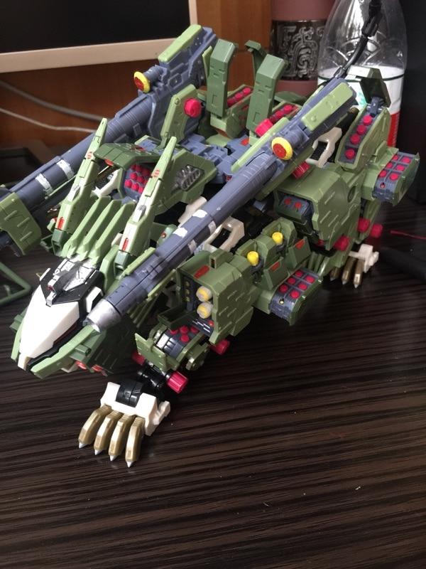 Image 3 - Bt 1/72 zoids liger zero panzer gundam montado modelo anime figura de ação aniversário presente natalaction figureanime action figureassembly model -