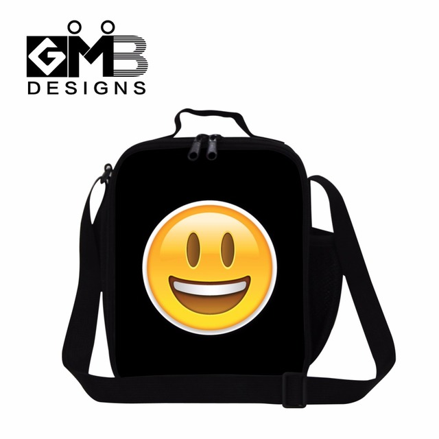 Cute Lunch Bags for Children,Expression Printed Insulated Lunch Bag for Kids School,Adults Work Lunch Container,Lunch Box Bags