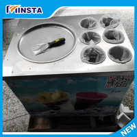 2018 new commercial instant ice cream fry ice cream machine free shipping by DHL