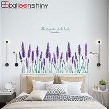 Balleenshiny фиолетовая Лавандовая Настенная Наклейка на стену