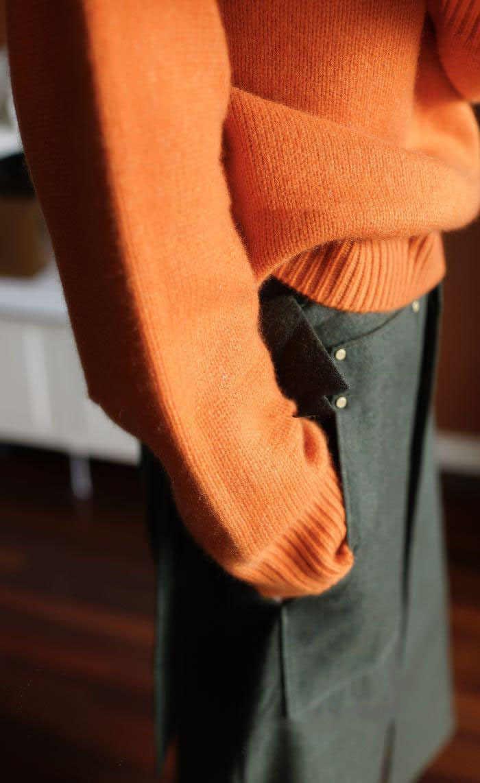 2019 새로운 겨울 고품질 더블 두꺼운 느슨한 터틀넥 캐시미어 스웨터 여성 스웨터 캐시미어 풀오버 스웨터