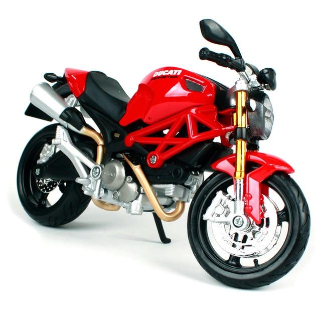 Maisto 1:12 Ducati Monster 696 MOTORCYCLE BIKE Model FREE SHIPPING ...