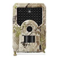 PR200 Trail Camera 12MP IR LEDs 940nm Hunting Camera Waterproof 120 Degree Angle Wild Camera Night Vision Photo Traps