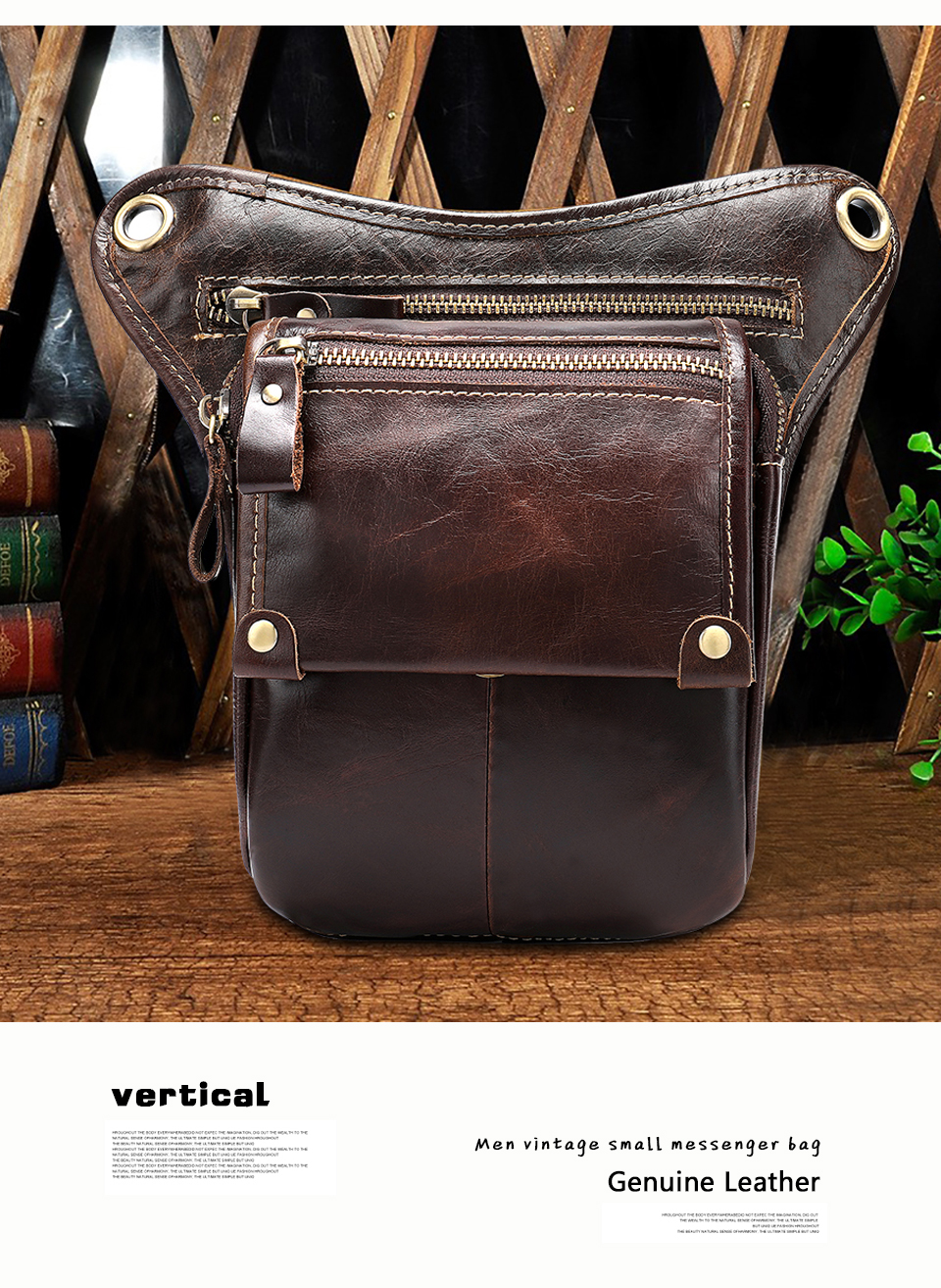 HTB1cbscajDuK1RjSszdq6xGLpXat - WESTAL Genuine Leather leg bag in Waist Pack motorcycle Fanny Pack Belt Bags Phone Pouch Travel Male Small leg bag tactical 3237