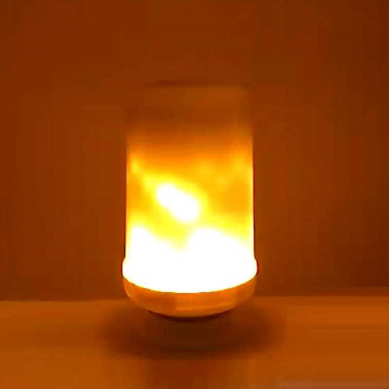 E27 E26 2835 LED Flame Effect Fire Light Bulbs 9W Creative Lights Flickering Emulation Vintage Atmosphere Decorative Lamp