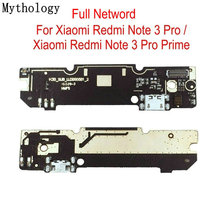 Mythology USB Charging Circuits Board For Xiaomi Redmi Note 3 Pro Prime mobile phone microphone Flex Cable Connector Parts
