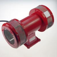 AC110V 1 9A 120db Motor Driven Air Raid Siren Metal Horn Industry Boat Alarm