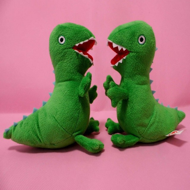 peppa pig & george pig Dinosaur cartoon stuffed plush kids toddler toys 22cm Free Shipping