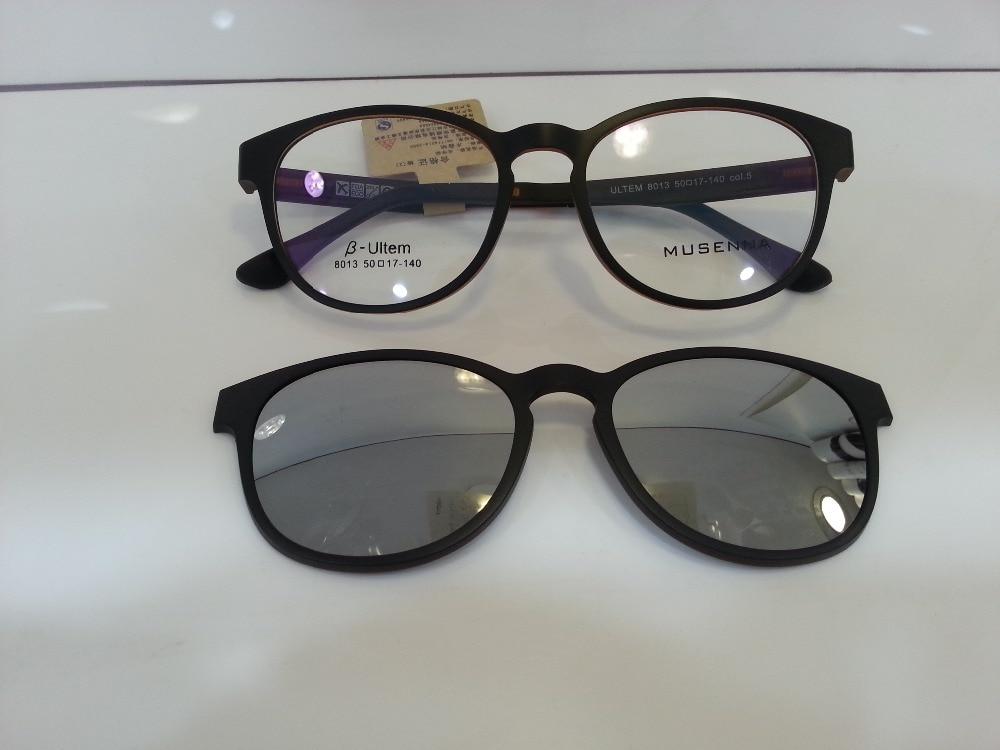 Ultem Ultra Light Myopia Eyeglasses Frame Polarized Sun