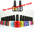 One Step Gel Polish 3 In 1 Nail Gel Soak Off LED UV Gel Polish Long Lasting Nail Art Gel Varnish