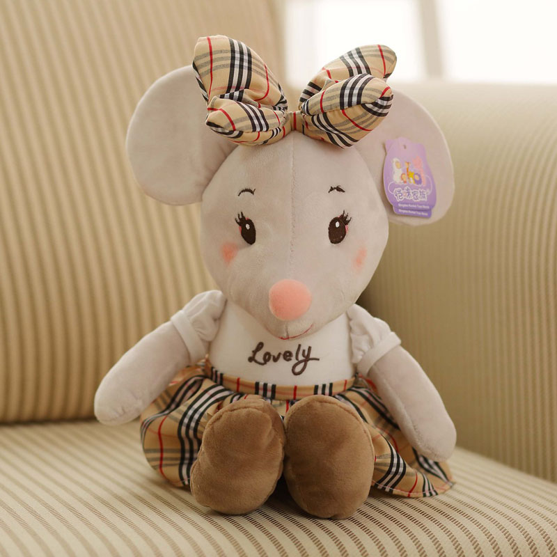 Mouse Plush Toy Imitation Doll Cute Mouse Doll Creative Pillow Mouse Nini Children's Toy