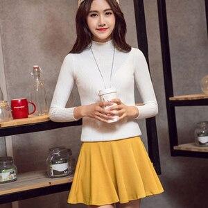 Image 4 - Dicloud Thời Trang 2019 Cao Cấp Váy Nữ Bông Tai Kẹp Mỏng Plus Kích Thước Váy Nữ Co Giãn Cổ Váy Mùa Hè